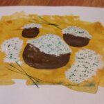 Wirginia Hajdziony - kl. IVa, ziemniaki z białym serem i szczypiorkiem